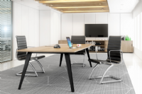 REFLEX  Circular Meeting Table